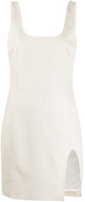 Drome Scoop-Neck Mini Dress
