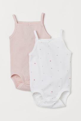 H&M 2-pack Bodysuits - Pink