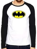 Batman Men's Logo Long Sleeve Top