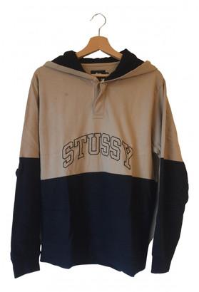 Stussy Camel Cotton Knitwear