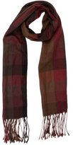 CNC Costume National Plaid Fringed Scarf
