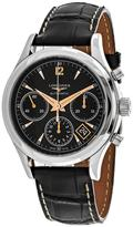 Longines Heritage L27424560 Men's Alligator Leather Automatic Chronograph Watch