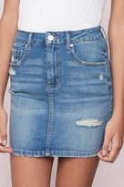 Garage Retro High Waist Mini Skirt