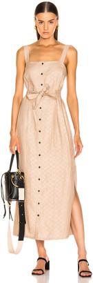 Mara Hoffman Serena Dress in Khaki | FWRD