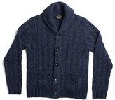 Ralph Lauren RRL Indigo Wool-Cotton Cardigan