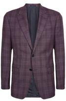 Armani Collezioni Wool Check Jacket