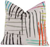 Crayola Stroke of Genius 18-Inch Square Throw Pillow