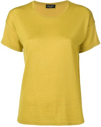 Roberto Collina Round Neck Knitted Top