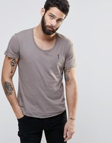 Religion Plain Scoop Neck T-Shirt