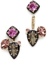 Alexis Bittar Custom Gemstone Earrings