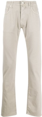 Jacob Cohen Straight-Leg Casual Trousers