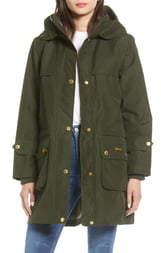 Barbour Icons Durham Waterproof Hooded Raincoat