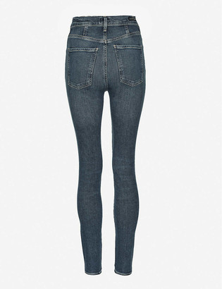 Citizens of Humanity Chrissy high-rise skinny stretch-denim jeans