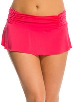 Kenneth Cole Strappy Hour Rouched Swim Skirt 8139290