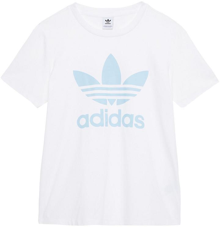 adidas Printed Stretch-cotton Jersey T-shirt
