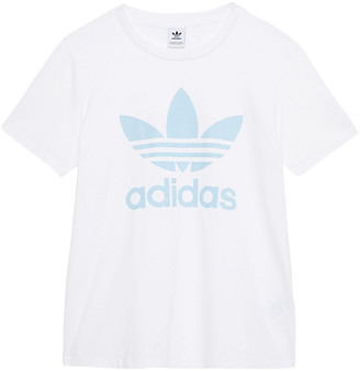 adidas Printed Stretch-cotton Jersey T-shirt