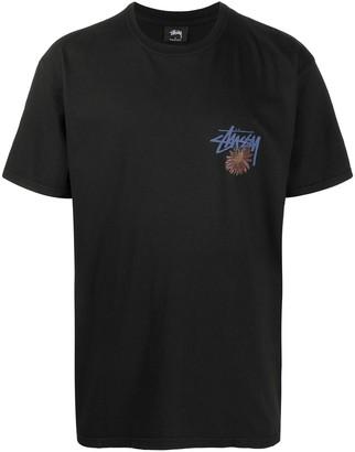 Stussy logo-print short sleeved T-shirt