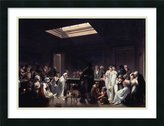 Amanti Art Framed Art Print 'A Game Of Billiards 1807' by Louis Leopold Boilly