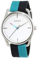 Nixon Women's Quartz Watch Analogue Display and Nylon Strap A1292008-00