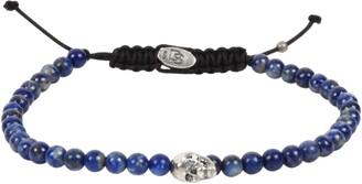Degs & Sal Stone Bead Skull Bracelet