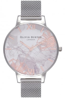Olivia Burton Ladies Abstract Florals Watch OB16VM20