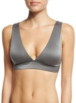 Luxe by Lisa Vogel Liquid By Luxe V-Neck Swim Top