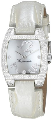 Façonnable Women's Watch Dome Diamonds Full White 170010503