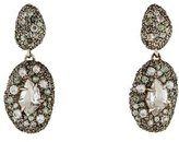 Alexis Bittar Diamond, Quartz & Sapphire Ice Marquis Drop Earrings