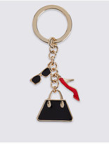 M&S Collection Multi Accessory Keyring