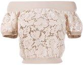 Valentino heavy lace top