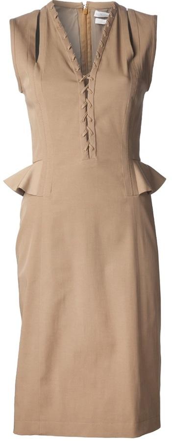 Altuzarra 'Topi' peplum dress