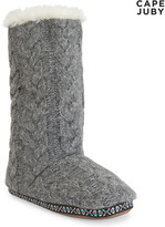Cape Juby Slouchy Cuff Slipper Boot