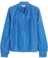 Etoile Isabel Marant Laper Cotton And Silk-Blend Blouse