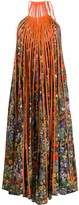 Stella McCartney floral pleated long dress
