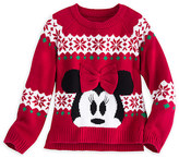 Disney Minnie Mouse Holiday Sweater for Girls