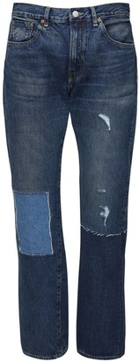Junya Watanabe Levi's 501 Patch Cotton Denim Jeans