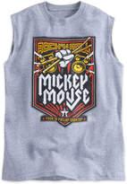 Disney Mickey Mouse Rock 'n Roller Coaster Sleeveless Tee for Boys