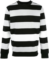 Diesel Black Gold striped jumper - men - Nylon/Spandex/Elastane/Viscose - S
