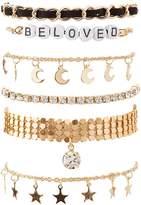 Charlotte Russe Beloved Layering Bracelets - 6 Pack