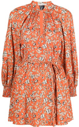Alice + Olivia Lilian floral-print wrap dress