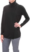 Foxcroft Asymmetrical Turteneck Shirt - Long Sleeve (For Women)