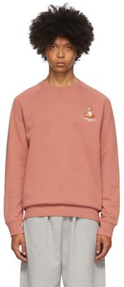 MAISON KITSUNÉ Red Lotus Fox Sweatshirt