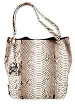 Cashhimi Texas Genuine Python Shopping Bag.