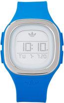 adidas ADH3034 Silver-Tone & Blue Watch
