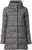 Herno tweed padded coat - women - Cotton/Polyamide/Polyester/Virgin Wool - 38