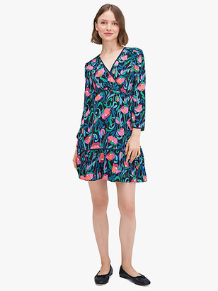 Kate Spade Floral Swirl Dress