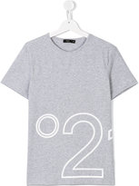 No21 Kids - logo print T-shirt - kids - Cotton/Spandex/Elastane - 14 yrs