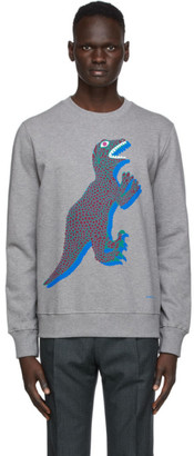 Paul Smith Grey Dino Sweatshirt