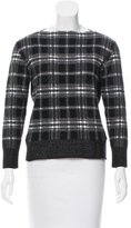 Tomas Maier Plaid Knit Sweater