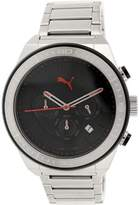 Puma Men's Edge PU102911001 Silver Stainless-Steel Analog Quartz Watch